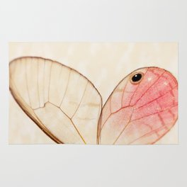 Pink Glasswing 1 Rug
