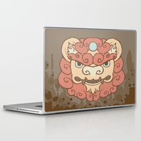 foo fighters Laptop & iPad Skins featuring I Pity the Foo by Roanoak Studios