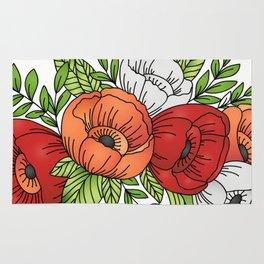 Flowers Queen - Poppies Rug