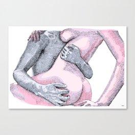Rough Lover Canvas Print