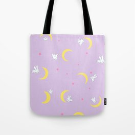 Sailor moon bed Tote Bag