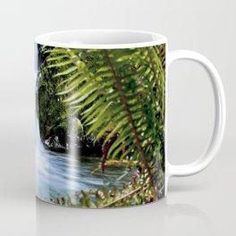 Quinault Rain Forest Waterfall  5-4-16 A3 Coffee Mug