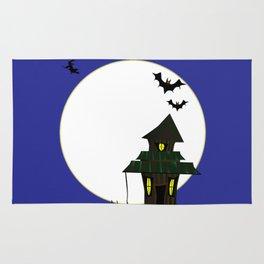 Halloween Cottoge Rug