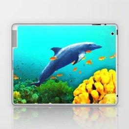 Dolphin in Water Laptop & iPad Skin