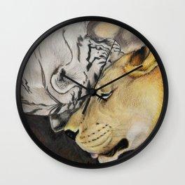 """CamBu"" Cameron Lion & Zabu Tiger Wall Clock"