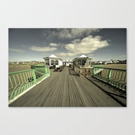 The pier at St Annes on sea Canvas Print