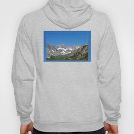 Rocky Mountains in July Hoody