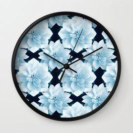 Lotus Flowers Wall Clock