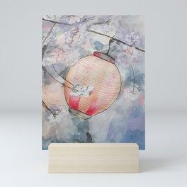 Cherry Lantern Mini Art Print