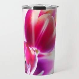 Happy Tulip Greetings Travel Mug