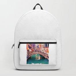 Small Bridge in Venice Backpack