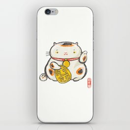Maneki Neko [Special Lucky Toy Box] iPhone Skin