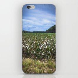 Cotton Fields  iPhone Skin