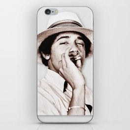 Barack Obama Smoking weed iPhone Skin