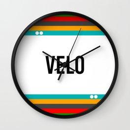 VELO Wall Clock