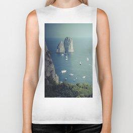Amalfi coast 4 Biker Tank