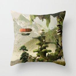 Giant Willow Fantasy Throw Pillow