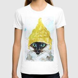 Yellow Knit T-shirt
