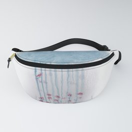 Rain in the woods Fanny Pack