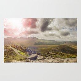 Ireland Mountain Landscape Panorama Rug