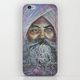 YOGI BHAJAN iPhone Skin