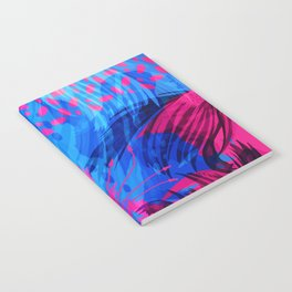 Going for an Abstract Swim Notebook
