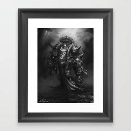 Champion Of Chaos Undivided Framed Art Print