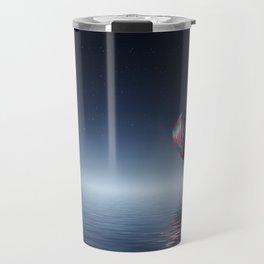 Hot Air Balloon Reflection Travel Mug