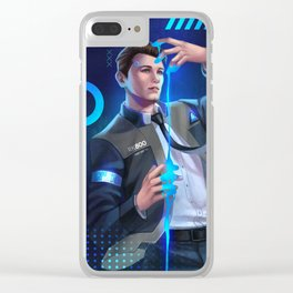 Detroit Become Human - Connor Clear iPhone Case