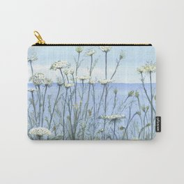 Queen Anne's lace, Watercolour Carry-All Pouch