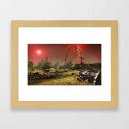 Tourmaline Framed Art Print