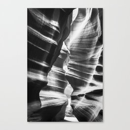Waves of sandstone at Antelope Canyon Canvas Print