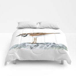 Killdeer Art 1 by Teresa Thompson Comforters