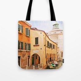 A Venetian View - Sotoportego de le Colonete - Italy Tote Bag