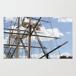 Old Glory - USS Constellation Rug