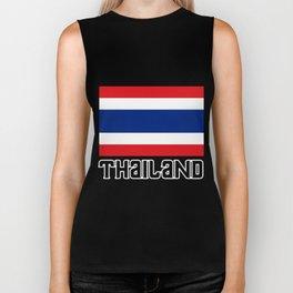 Thailand Flag Bangkok Royal-Kingdom Siam Thai Gift Biker Tank