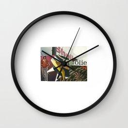 La Folie Wall Clock