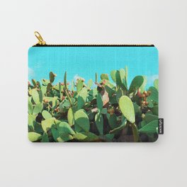 Cactus fruit turquoise Carry-All Pouch