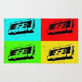 Cassettes Square Rug