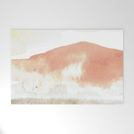 Terra Cotta Hills Abstract Landsape Welcome Mat