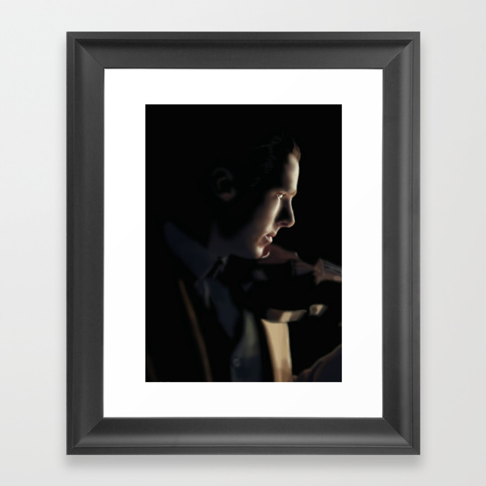 Sherlock - The Abominable Bride Framed Art Print by Rdobsonart FRM4339275