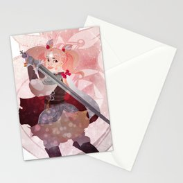 pretty soldier sailor chibimoon Stationery Cards