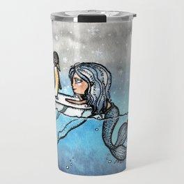 Antarctic Mermaid Travel Mug