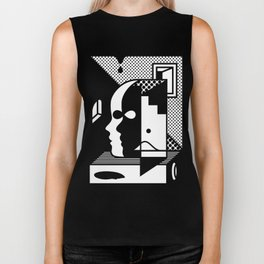 Stairs To The Attic Biker Tank