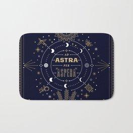 Ad Astra Per Aspera Bath Mat