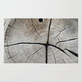 dry wood branch Rug