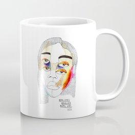 Real Eyes Realize Real Lies Coffee Mug