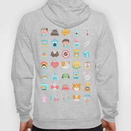 CUTE VET / VETERINARIAN PATTERN Hoody