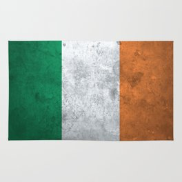 Distressed Irish Flag Rug