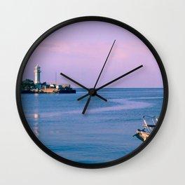 Morning sea Wall Clock